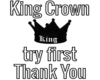 King Crown B/W