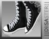 [D] Converse Black F: