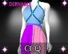 [CCQ]Halter Dress Mesh