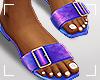ṩSummer Slippers Blue