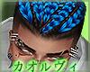 Dreads Hair- Blue