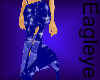 (ES) Sexy Blue Skirt 4