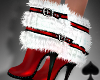 Cat~Sexy  Santa Boots