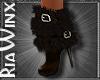 Sable Fur Boots