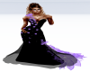 Black & Lilac Gown