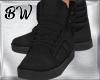 Black Velvet Shoes HD2