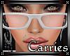 C Rose Tint Glasses Wht