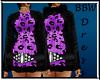 BBW Purple Swearter Dres