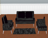 Black ocean couch/poses