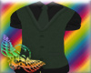Stem green vest/tie