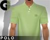 L14| Polo - Lime