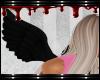 FOX black angel wings