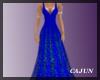 Cobalt Vision Gown