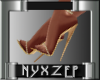 Rozena Gold Shoe
