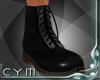 Cym Black Boots M