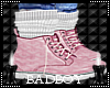 pink lust boots
