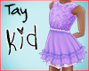 Kid Blue Lace Dress
