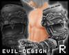 #Evil Full Arm R-Silver