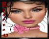 Elvira Pink Roses Choker