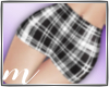 AM: Plaid Mini Skirt