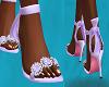 FG~ Rose Tied Heels