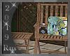 Rus: Wood deck chair