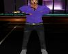 Purple Shirt & Jeans Fit
