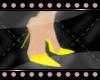 *Yellow Gummie Heels