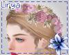 Pink Roses Hair Flowers