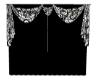 Anim Curtain -blk/wht