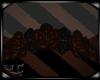 Brown Rose Headdress