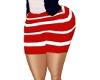 Bmxxl striped skirt