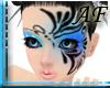 [AF]Blue Black Butterfly