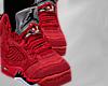 Red Jordans
