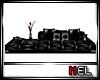 [MEL] Black Big Couch