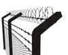 A| Barbed Wire Fence