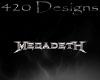 Megadeth sticker