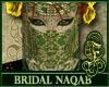 Bridal Naqab Green