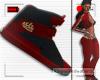 R* F. Title Kicks Red
