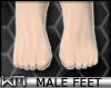 +KM+ Male Feet Natural