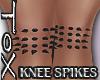 SPIKEY KNEES [GLITTER]