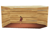 Panel Wood Room Base