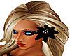 Black Flower For Hair!