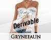 Derivable top mod 7