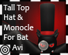 *m Bat Hat+ Monocle