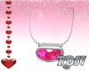 Valentine Pink Necklace