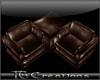 {TG} Leather Lounge-Brwn