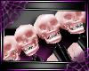 [D]SpikeSkullBand 2*P/Bk