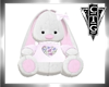CTG PINK AND WHITE BUNNY