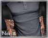 Shirt  + tattoo